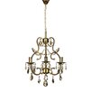 Castleton Home Dexter 3 Light Crystal Chandelier