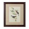 Castleton Home Birds 1 Framed Art Print