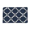 Castleton Home South Beach Hand-Woven Navy Blue/White Area Rug