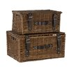 Castleton Home Willow 2 Piece Basket Set