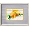 Castleton Home Kitchen Fruits III Framed Graphic Art