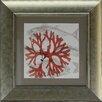 Castleton Home Fish Coral II Framed Graphic Art