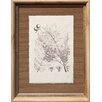 Castleton Home Printed Leaf Drawing II Framed Art Print