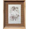 Castleton Home Printed Leaf Drawing I Framed Graphic Art