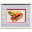 Castleton Home Kitchen Fruits II Framed Graphic Art