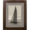 Castleton Home Sailboat II Framed Photographic Print