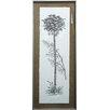 Castleton Home Vertical Palm Tree II Framed Graphic Art