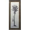 Castleton Home Vertical Palm Tree V Framed Graphic Art