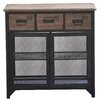 Castleton Home Davey 3 Drawer Cabinet