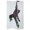 Castleton Home 180cm x 120cm Digital Printed 3 Panel Room Divider