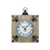 Castleton Home Wood Clock