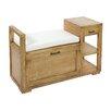 Castleton Home Issa Wood Storage Bench