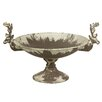 Castleton Home Centerpiece Metal Bowl