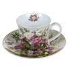 Castleton Home Natural Bouquet Cup and Saucer