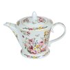 Castleton Home Bloom 1L Porcelain Teapot