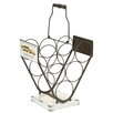 Castleton Home 6 Bottle Wine Rack