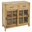 Castleton Home Issa 2 Drawer Cabinet
