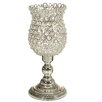Castleton Home Metal and Glass Plated Vase
