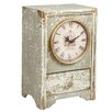 Castleton Home Wooden Table Clock