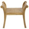 Castleton Home Issa Wood Bench