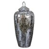 Castleton Home Mosaic Glass Decorative Jar