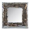 Castleton Home Mosaic Table Glass Mirror