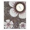 Castleton Home Mosaic Glass Wall Clock