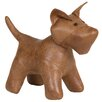 Castleton Home Dog Leatherette Figure