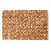 Castleton Home Socorro Acacia Indoor Bath Mat