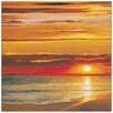 Castleton Home 'Sunset on the Sea' by Werner Photographic Print