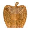 Castleton Home Apple Foldable Fruit Basket