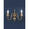 Castleton Home Luft 2 Light Candle Wall Sconce