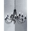 Castleton Home Mila 12 Light Candle Chandelier
