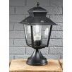 Castleton Home Gia Exterior Pedestal 1 Light Pier Mount Light