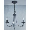 Castleton Home Mila 3 Light Candle Chandelier