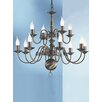 Castleton Home Hayley 12 Light Candle Chandelier