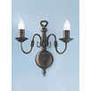 Castleton Home Hayley 2 Light Candle Wall Sconce