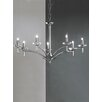 Castleton Home Regal 7 Light Candle Chandelier