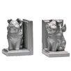 Castleton Home Flying Pig Bookends (Set of 2)