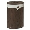 Castleton Home Kayo Oval Laundry Hamper