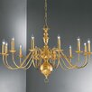 Castleton Home Luft 12 Light Candle Chandelier