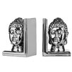Castleton Home Buddha Head Bookends (Set of 2)