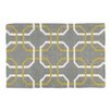 Castleton Home Finn Hand-Woven Grey / White Area Rug
