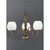 Castleton Home Hayley Three Light Chandelier in Bronze