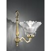 Castleton Home Glass Bell Wall Sconce Shade