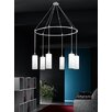 Castleton Home 12cm Glass Drum Pendant Shade