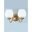 Castleton Home Alba 2 Light Semi-Flush Wall Sconce