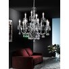 Castleton Home Affie 12 Light Crystal Chandelier