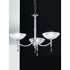 Castleton Home Serena 3 Light Crystal Chandelier
