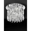 Castleton Home Galaxy 4 Light Flush Ceiling Light